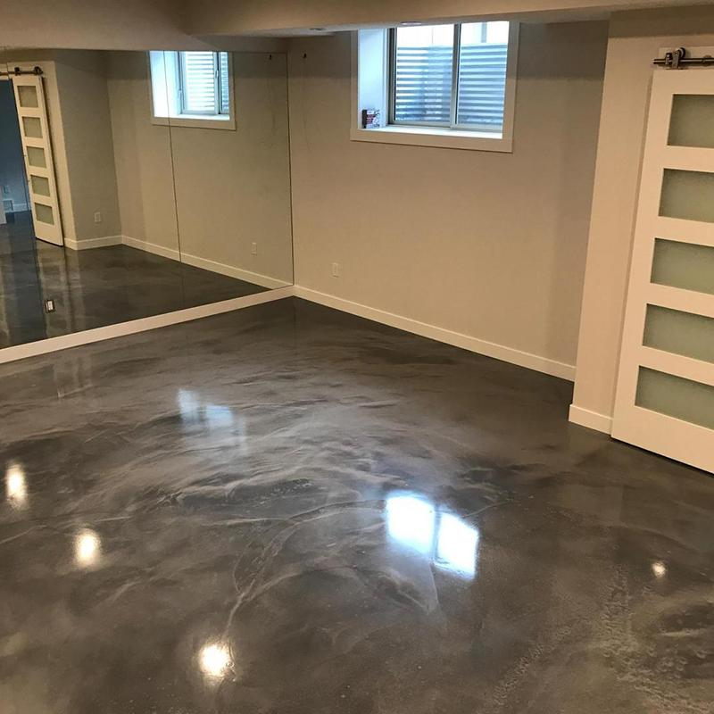 Residential Epoxy And Concrete Coatings Concrete