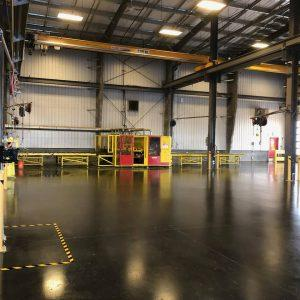 Industrial Epoxy and Polished Concrete
