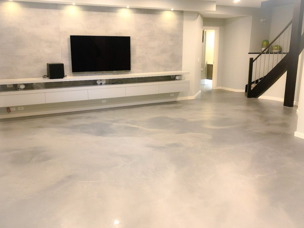 Metallic Epoxy Floor Calgary