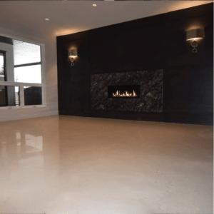 Basement Epoxy Floor - Aspen Estates