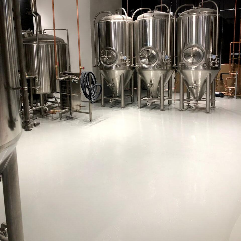 Brewery Epoxy Floor Calgary