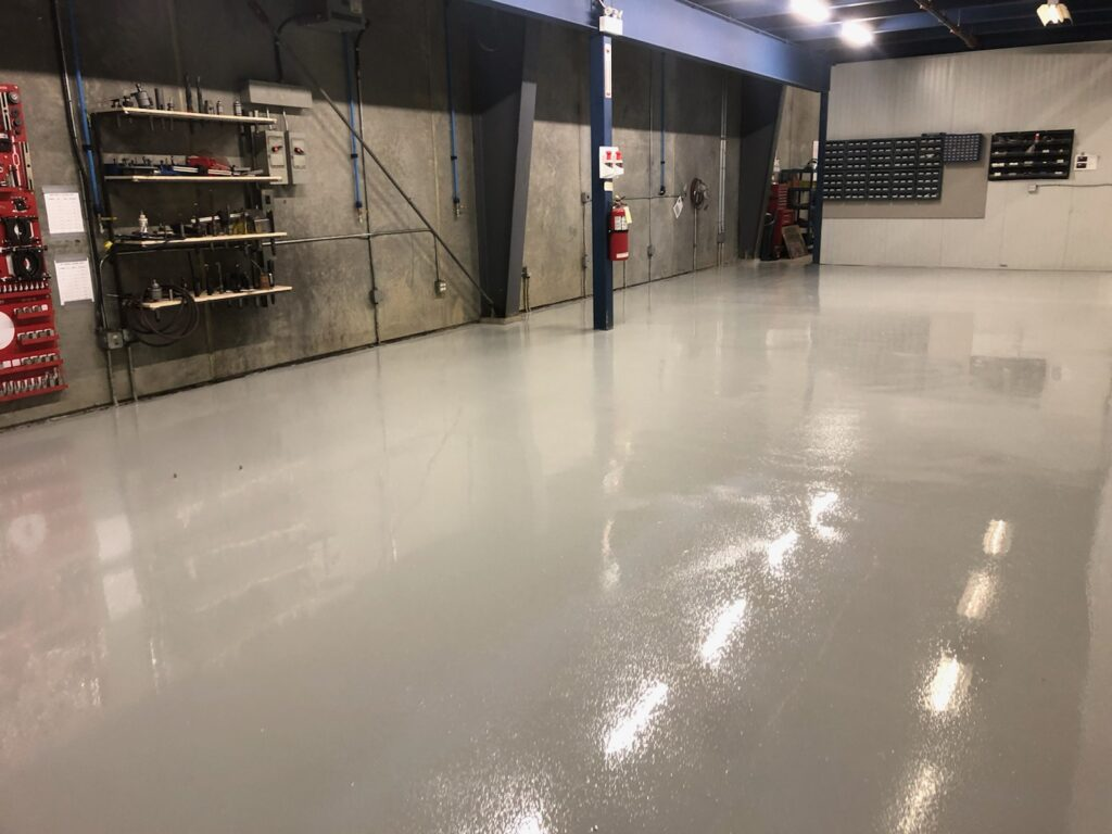 Warehouse Epoxy Floor Calgary