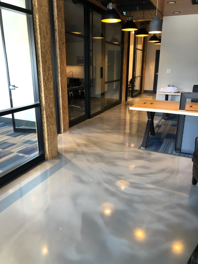Office Epoxy Floor Calgary